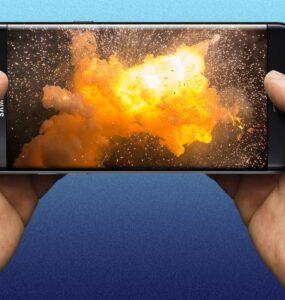 Samsung Explosion