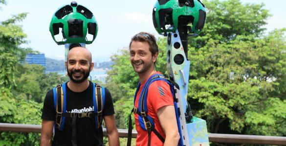 New Street View: JustRunLah! Community Members: Paviter Singh and Ben Flint