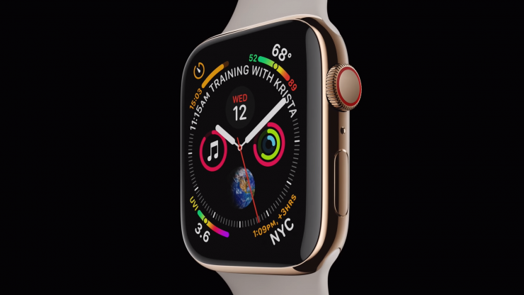 Apple Watch Series 4 (Source: Apple)