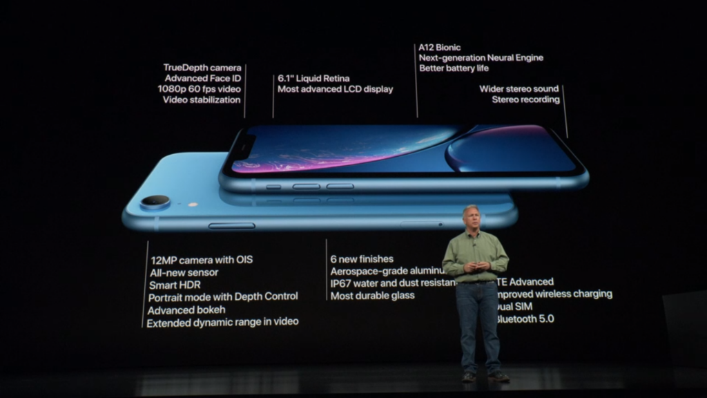 iPhone XR (Source: Apple)