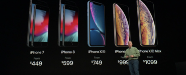 iPhone XS Max XR Pricing
