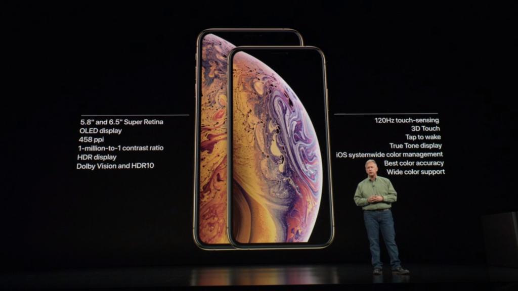iPhoneXS & iPhone XS Max (Source: Apple)