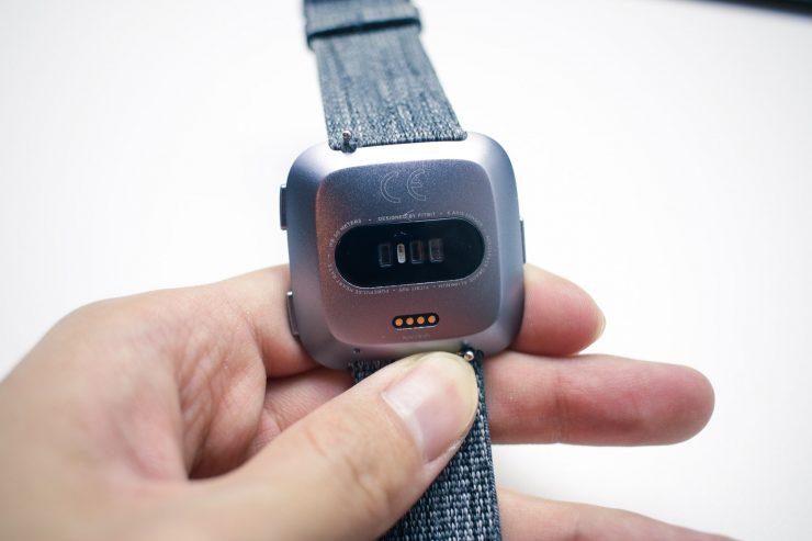 Fitbit Versa (Back)