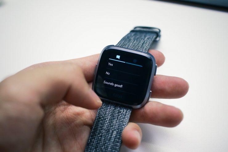 Fitbit Versa Quick Reply