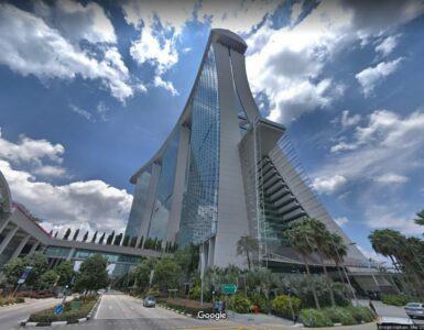 Street View Imagery of Marina Bay Sands 2018