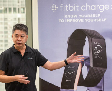 Fitbit Charge 3 Launch in Singapore