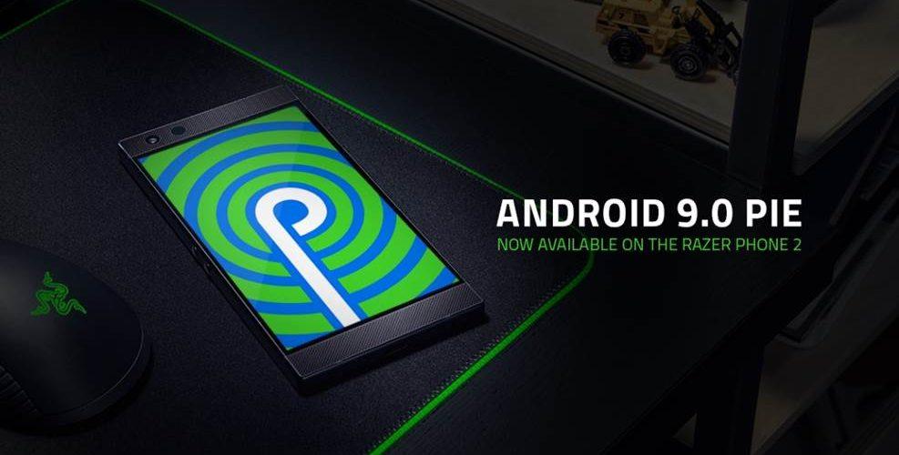 Razer Phone 2 Android 9.0 Pie