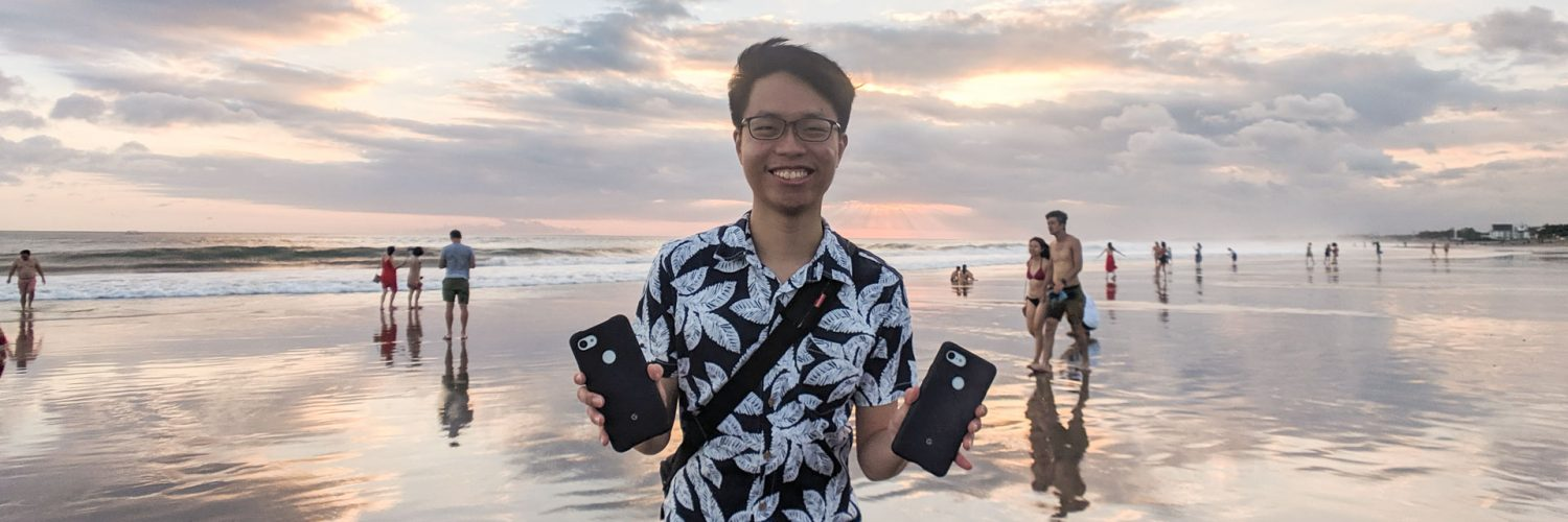 Pixel 3a XL to vacation in Bali