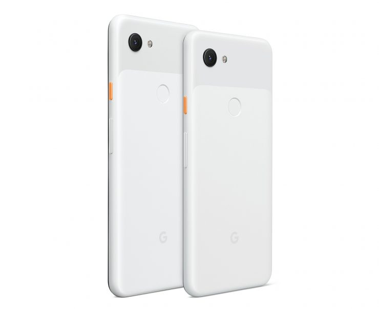 Pixel 3a - Clearly White