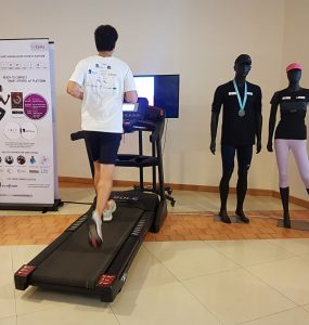 Treadmill test for KaHa Smart Tee