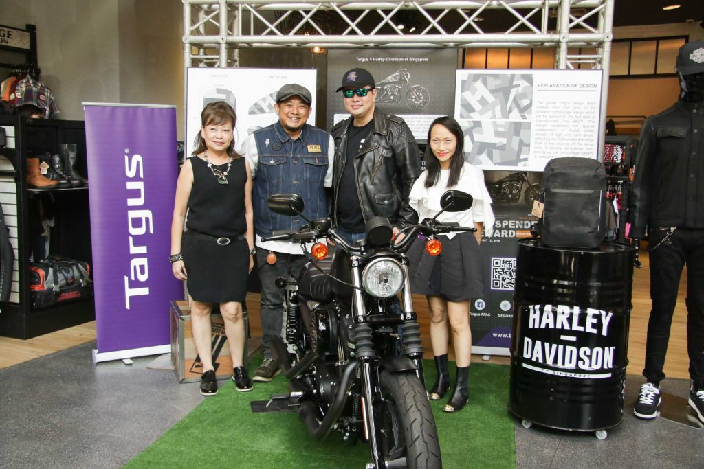 Targus and Harley-Davidson Representatives
