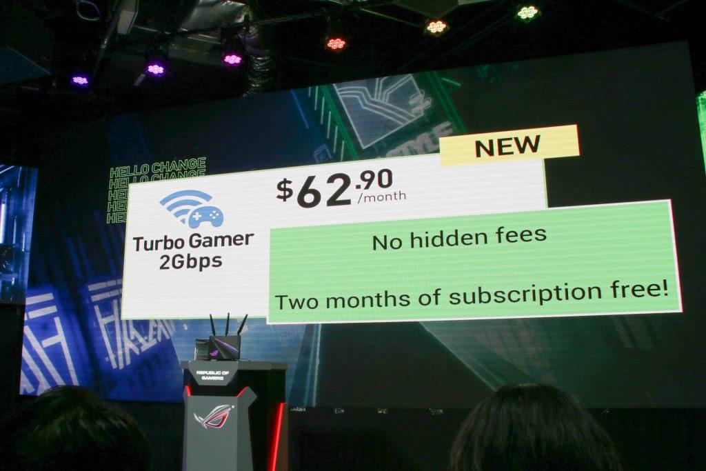 StarHub's Turbo Gamer 2Gbps plan