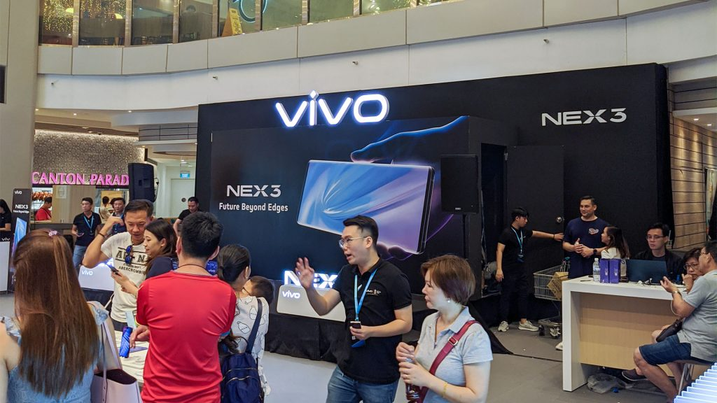 vivo NEX 3 Roadshow Singapore