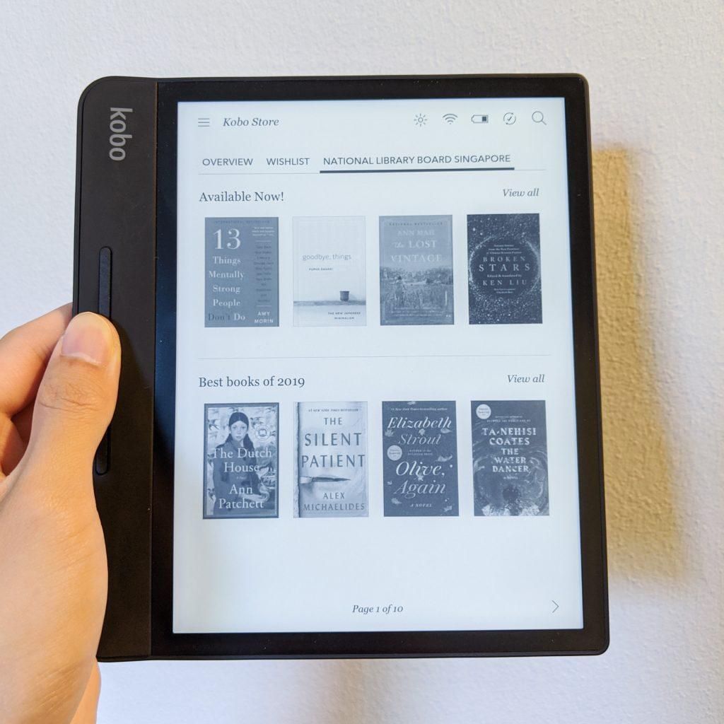 Borrow eBooks from NLB