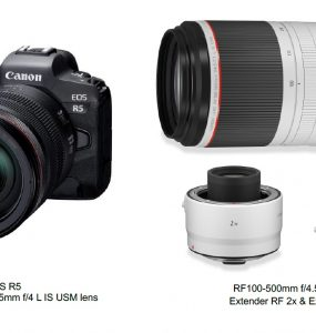 Canon announces development EOS R5 and new RF Series Lenses