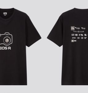 Canon x UNIQLO Limited Edition T-shirt
