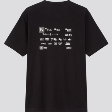 Canon x UNIQLO Limited Edition T-shirt (Back)