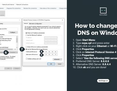 DNS Settings on Windows