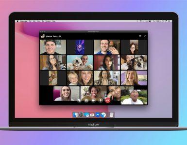 Messenger Rooms on Desktop