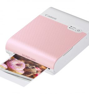 SELPHY SQUARE QX10 in Pink