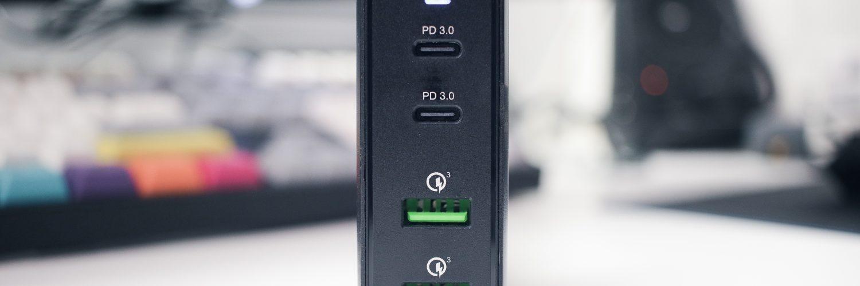 Verbatim USB Charging Hub (Front)