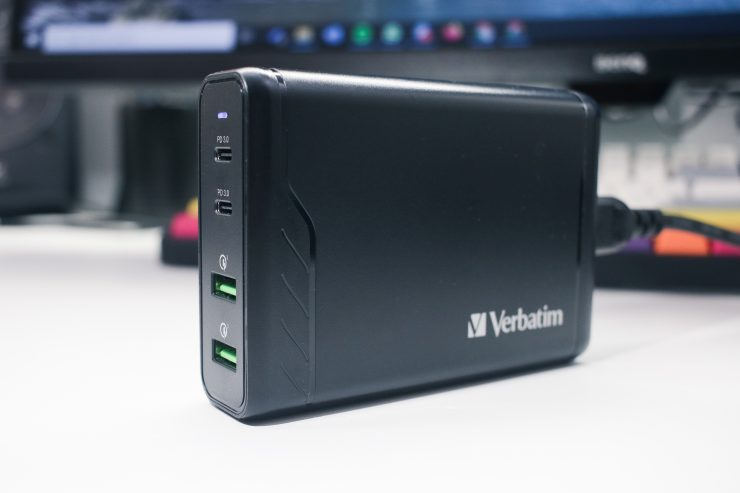 Verbatim USB Charging Hub (Side)