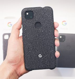Unboxing the Google Pixel 4a