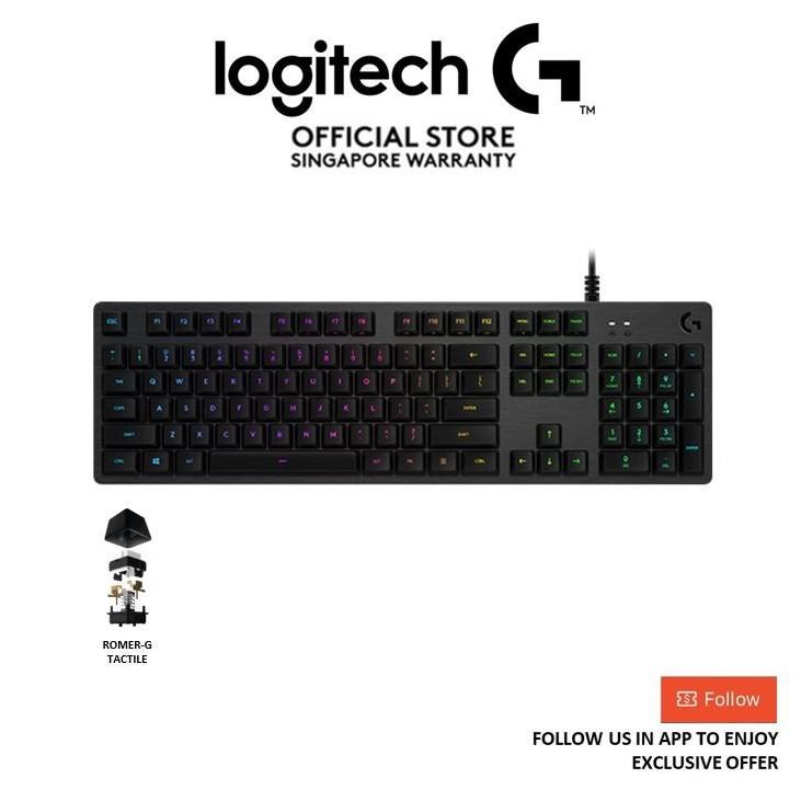 Logitech G512 Carbon Lightsync RGB Mechanical Gaming Keyboard
