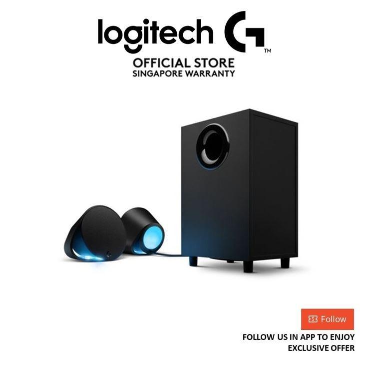 Logitech G560 Lightsync RGB PC Gaming Bluetooth Speakers
