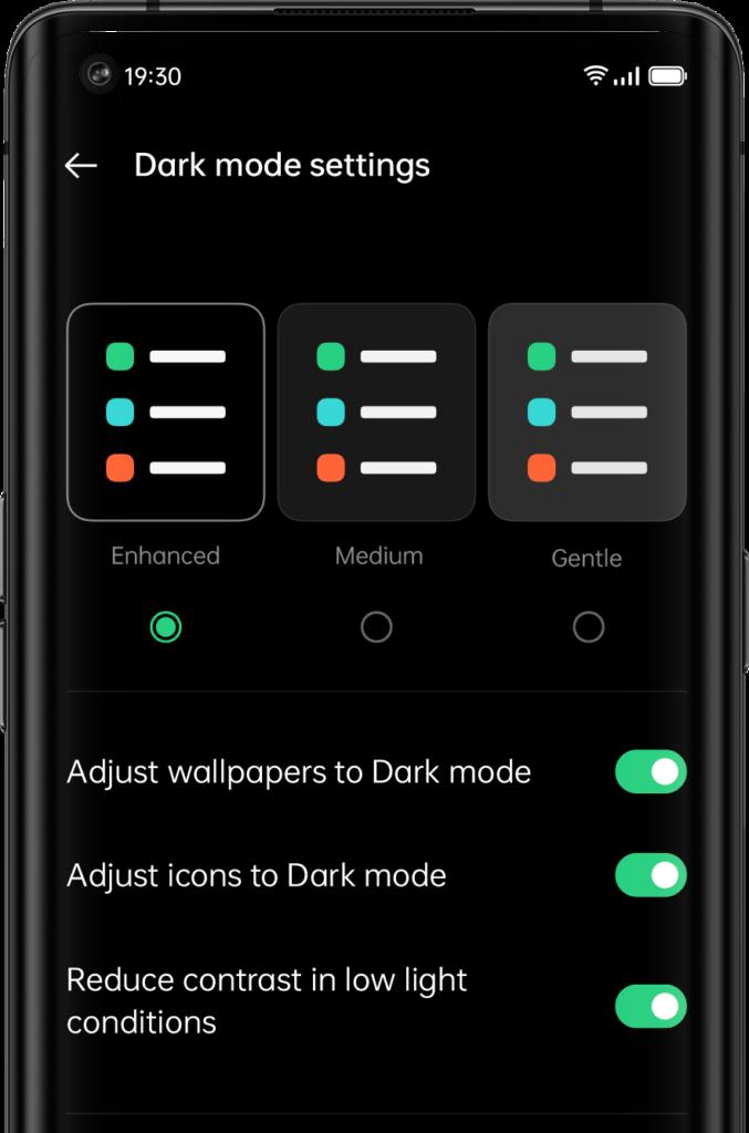 Customizable Dark Mode