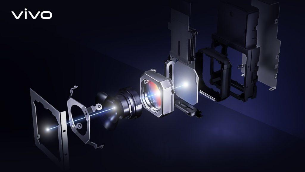 Gimbal Camera System on the vivo X50 Pro