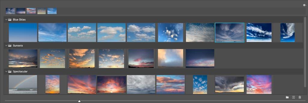 Adobe Photoshop 25 Sky Presents