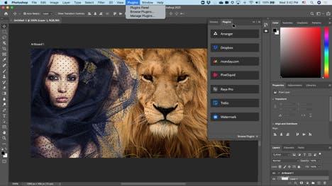 Adobe Photoshop Improved Plugins