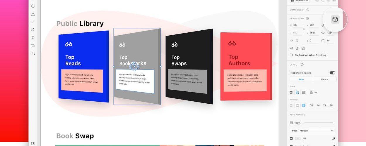 Adobe XD 3D Transforms