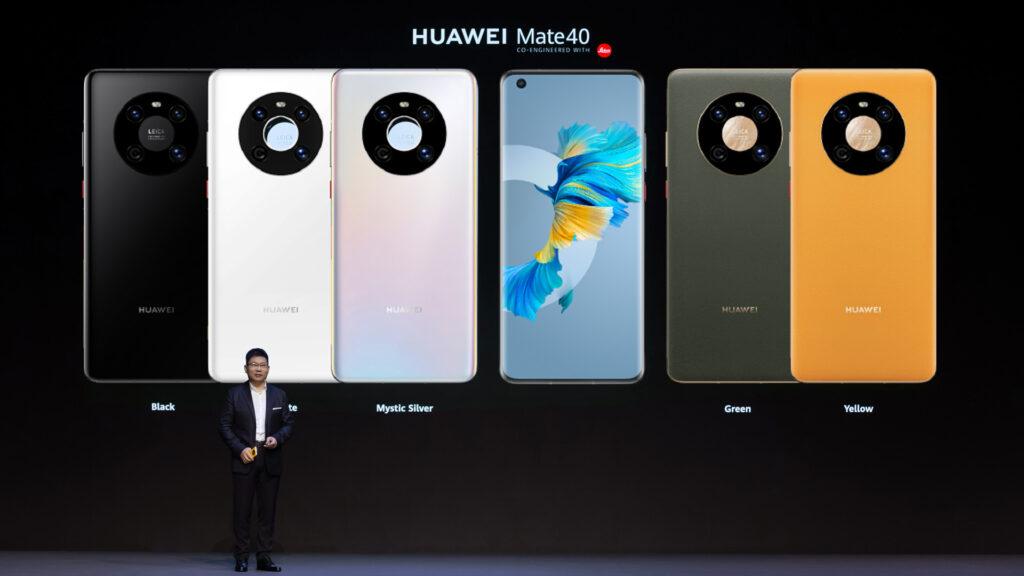 HUAWEI Mate 40 Series Colours (Photo: Huawei)