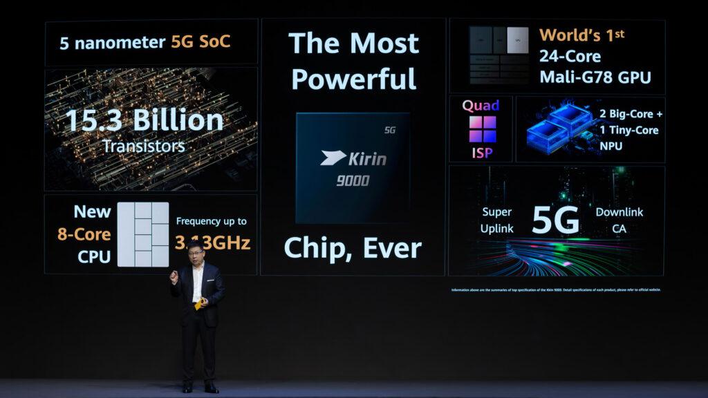 Kirin 9000 Series 5G SoC (Photo: Huawei)