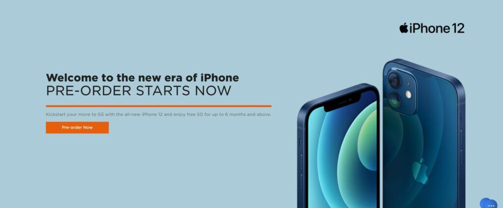 M1 Pre-order iPhone 12