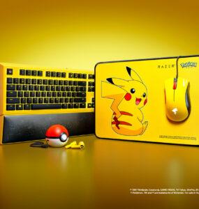Razer x Pokémon Pikachu Limited Edition Gear