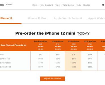M1 Apple iPhone 12 mini Pre-order