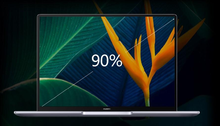 Huawei MateBook 14 Screen-to-Body Ratio