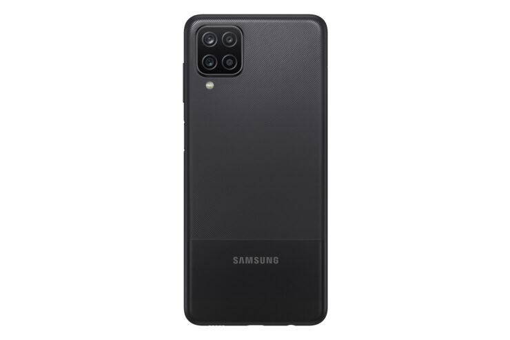 Samsung Galaxy A12 in Black (Back)