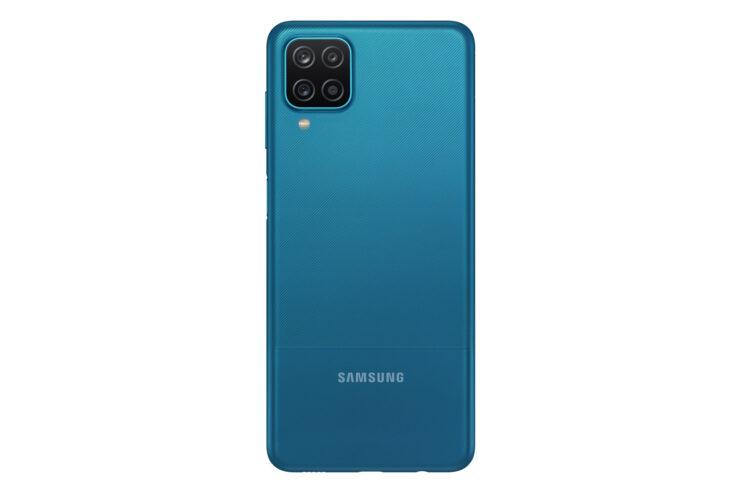 Samsung Galaxy A12 in Blue (Back)