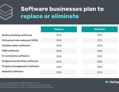 Software Businesses Replace or Eliminate