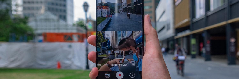 Samsung Galaxy S21 Ultra Director Mode