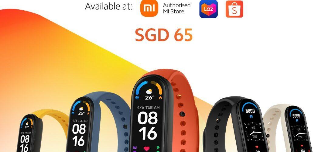Mi Smart Band 6 Singapore Launch