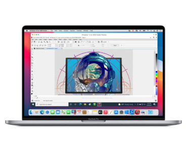 Parallels Desktop 16.5 on M1 Mac running Corel PaintShop Pro 2021