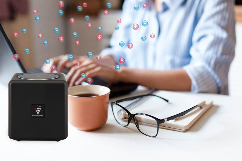 Sharp Cube Air Purifier