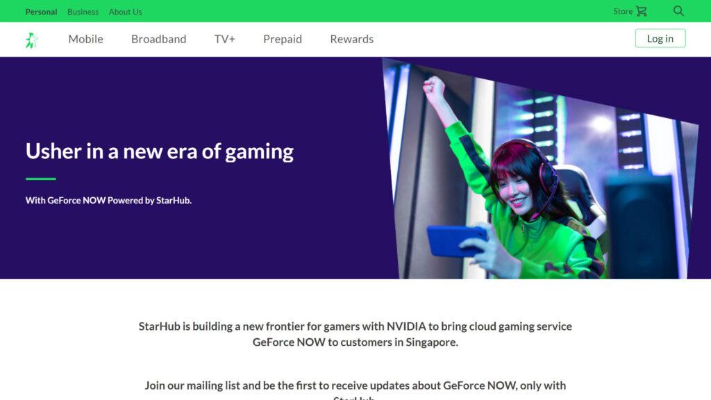 NVIDIA GeForce NOW (Powered by Starhub)