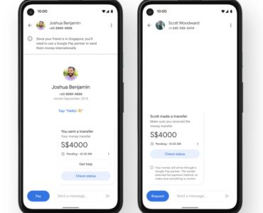 Google Pay: Overseas Transfer