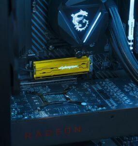 FireCuda 520 Cyberpunk 2077 Limited Edition SSD